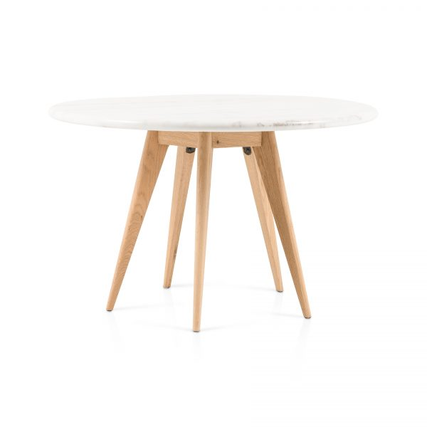 Tracey Boyd for Four Hands Arago Round Dining Table-Cabo-Home-Furniture-Seasalt-Home-Interiors
