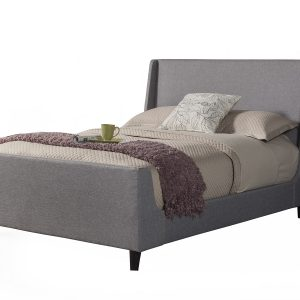 Amber Grey Linen Bed-Cabo-Home-Furniture-Seasalt-Home-Interiors
