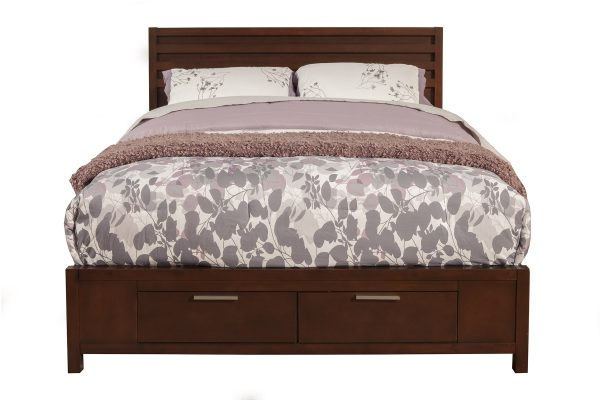Urban Twin Bed In Merlot-Cabo-Home-Furniture-Seasalt-Home-Interiors