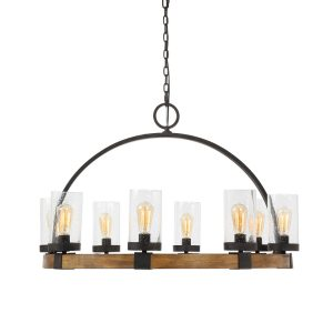 Atwood 8 Lt Pendant-Cabo-Home-Furniture-Seasalt-Home-Interiors