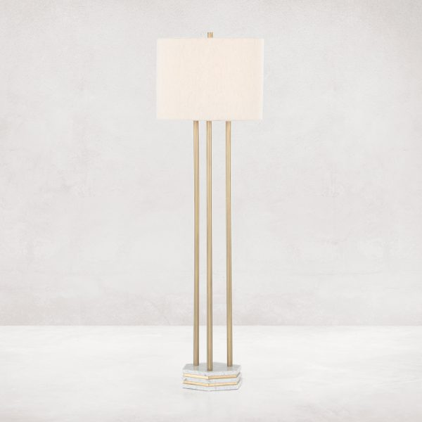 Asher Amelie Floor Lamp-Cabo-Home-Furniture-Seasalt-Home-Interiors