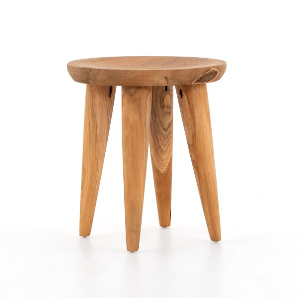 Grass Roots Zuri Round Outdoor End Table-Cabo-Home-Furniture-Seasalt-Home-Interiors