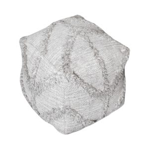 Olfen Pouf Gray-Cabo-Home-Furniture-Seasalt-Home-Interiors