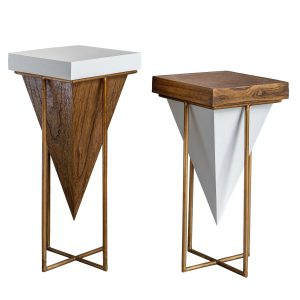 Kanos Accent Tables (Set Of 2)-Cabo-Home-Furniture-Seasalt-Home-Interiors