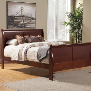 Louis Philippe II Bed Cherry-Cabo-Home-Furniture-Seasalt-Home-Interiors