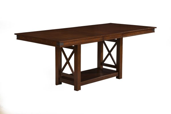 Artisan Counter Height Dining Table Pecan-Cabo-Home-Furniture-Seasalt-Home-Interiors