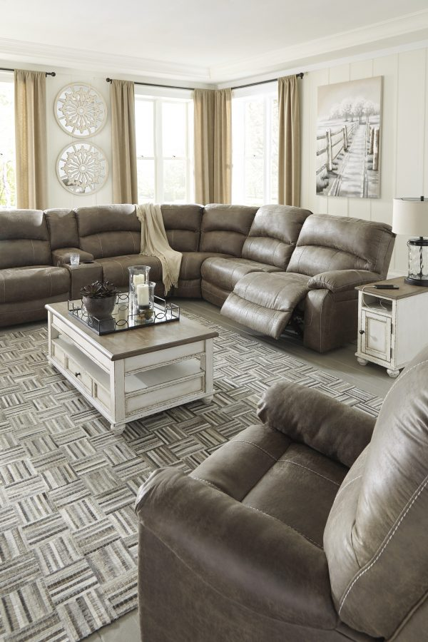 Segburg Power Sectional With Recliner-Cabo-Home-Furniture-Seasalt-Home-Interiors