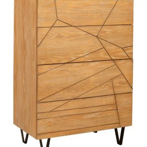 Trapezoid Chest Cerused Wheat-Cabo-Home-Furniture-Seasalt-Home-Interiors