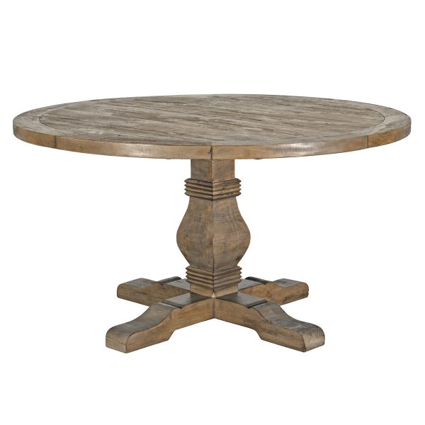 """Caleb 55"""" Round Dining Table Desert Gray-Cabo-Home-Furniture-Seasalt-Home-Interiors"""