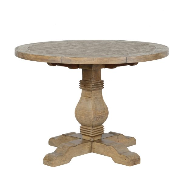"""Caleb 42"""" Round Dining Table Desert Gray-Cabo-Home-Furniture-Seasalt-Home-Interiors"""