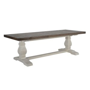"""Caleb 94"""" Dining Table Lark Brown-Classic Ivory-Cabo-Home-Furniture-Seasalt-Home-Interiors"""