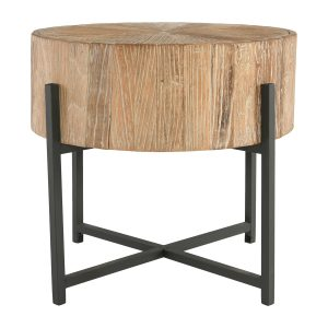 Allan Round End Table-Cabo-Home-Furniture-Seasalt-Home-Interiors
