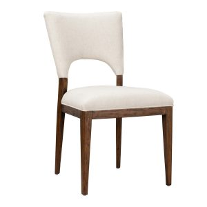Mitchel Upholstered Dining Chair Natural-Cabo-Home-Furniture-Seasalt-Home-Interiors