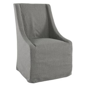Warwick Upholstered Rolling Dining Chair Fossil-Cabo-Home-Furniture-Seasalt-Home-Interiors