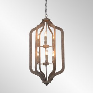 Ellie Chandelier Tall With Bulb-Cabo-Home-Furniture-Seasalt-Home-Interiors