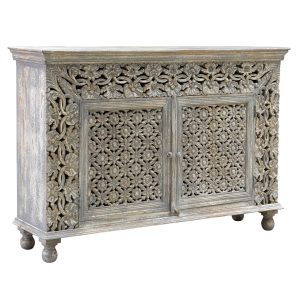 Wd Carved 2 Door Cabinet-Cabo-Home-Furniture-Seasalt-Home-Interiors