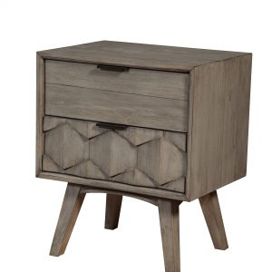 Shimmer Nightstand Antique Grey-Cabo-Home-Furniture-Seasalt-Home-Interiors