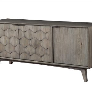 Shimmer TV Console Antique Grey-Cabo-Home-Furniture-Seasalt-Home-Interiors