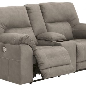 Cavalcade Casual Double Reclining Loveseat with Console-Cabo-Home-Furniture-Seasalt-Home-Interiors