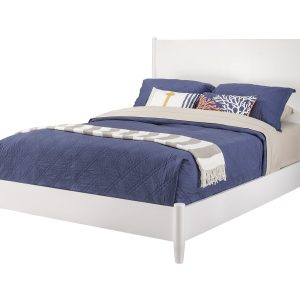 Flynn Panel Bed White-Cabo-Home-Furniture-Seasalt-Home-Interiors