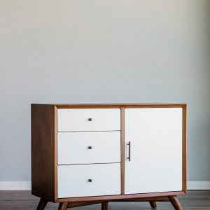 Flynn Accent Cabinet (Acorn & White)-Cabo-Home-Furniture-Seasalt-Home-Interiors