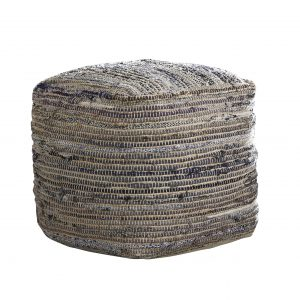 Absalom Pouf-seasalt home interiors-cabo home furniture-A1000550-SW
