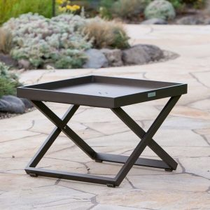 Bistro Side Table in Coffee-Cabo-Home-Furniture-Seasalt-Home-Interiors