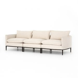DaDawson Donovan 3 pc Sectional Abode Ivory-Cabo-Home-Furniture-Seasalt-Home-Interiors