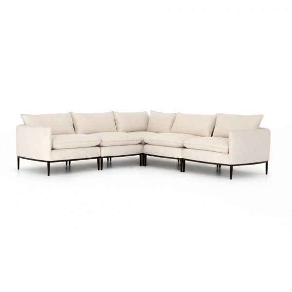 Dawson Donovan 5 pc Sectional Abode Ivory-Cabo-Home-Furniture-Seasalt-Home-Interiors
