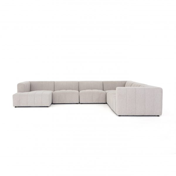 Grayson Langham Channeled 6 pc Laf Chaise Secti-Cabo-Home-Furniture-Seasalt-Home-Interiors