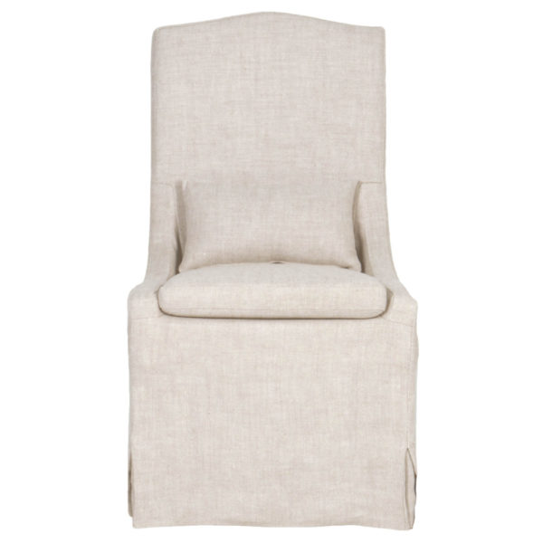 Colette Slipcover Dining Chair-Cabo-Home-Furniture-Seasalt-Home-Interiors