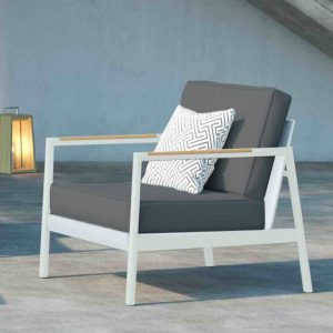 Pasadena Lounge Chair in White-Cabo-Home-Furniture-Seasalt-Home-Interiors