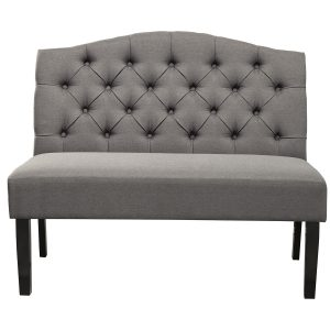 Swan Upholstered Bench Grey-Cabo-Home-Furniture-Seasalt-Home-Interiors