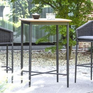 Marin Square Bar Table In Charcoal-Cabo-Home-Furniture-Seasalt-Home-Interiors