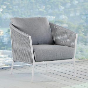 Olema Love Seat in White-Cabo-Home-Furniture-Seasalt-Home-Interiors