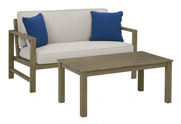 Fynnegan Loveseat with Table (Set of 2)-Cabo-Home-Furniture-Seasalt-Home-Interiors