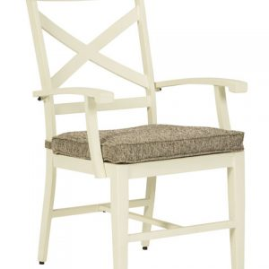 Preston Bay Arm Chair With Cushion (Set of 2)-Cabo-Home-Furniture-Seasalt-Home-Interiors