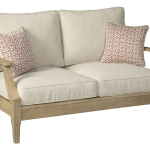 Clare View Loveseat w/Cushion-Cabo-Home-Furniture-Seasalt-Home-Interiors