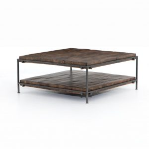 SIMIEN SQUARE COFFEE TABLE-GUNMETAL - seasalt home interiors - los cabos home furniture