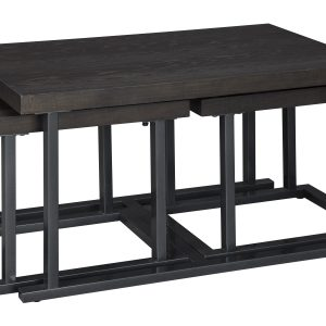 Airdon Cocktail TBL w/2 Stools (Set of 3)-Cabo-Home-Furniture-Seasalt-Home-Interiors