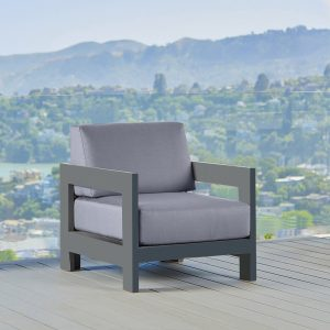 Tiburon Lounge Chair Set In Charcoal Frame-Cabo-Home-Furniture-Seasalt-Home-Interiors