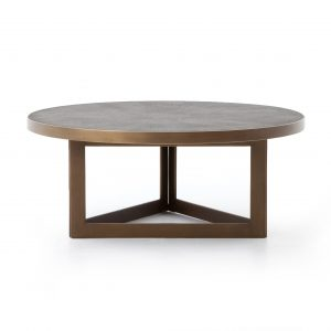Bentley Shagreen Round Coffee Table-Cabo-Home-Furniture-Seasalt-Home-Interiors