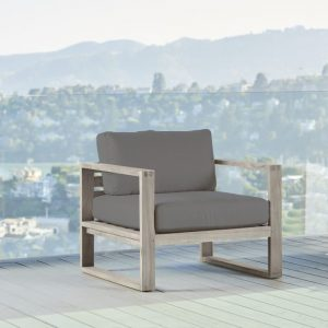 Belvedere Weathered Teak Lounge Chair-Cabo-Home-Furniture-Seasalt-Home-Interiors