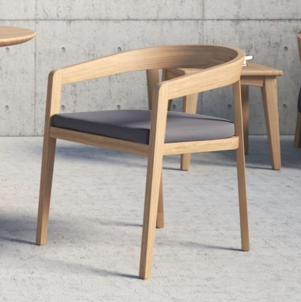Cavallo Dining Chair In Teak-Cabo-Home-Furniture-Seasalt-Home-Interiors