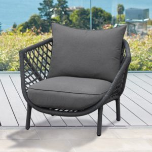 Lisbon Lounge Chair In Charcoal – New-Cabo-Home-Furniture-Seasalt-Home-Interiors