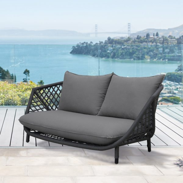 Lisbon Loveseat In Charcoal – New-Cabo-Home-Furniture-Seasalt-Home-Interiors
