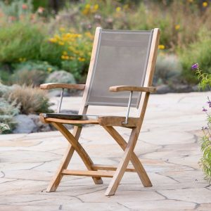 Mendocino Folding Arm Chair-Cabo-Home-Furniture-Seasalt-Home-Interiors