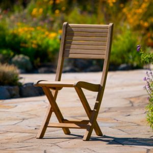 Patio Folding Side Chair-Cabo-Home-Furniture-Seasalt-Home-Interiors