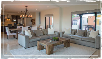 Seasalt Interiors - Pacific Coastal Furniture Package for Los Cabos Vacation Homes